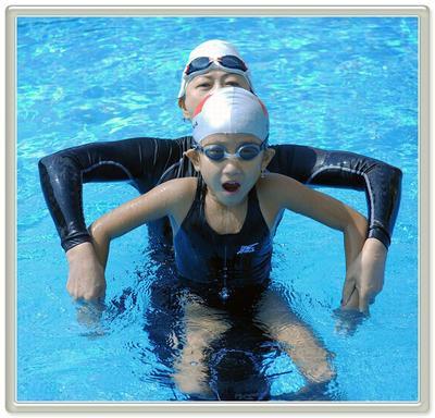 (6-8岁间)蛙泳