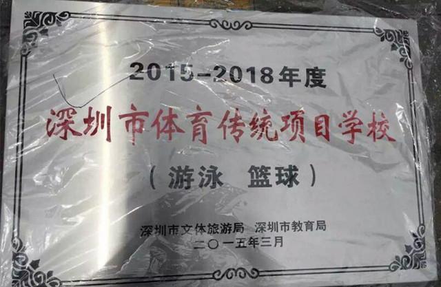 深圳市体育传统项目学校